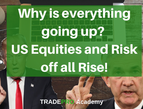 US Equities on all-time highs, Risk off on all-time highs and Fed cuts, what's in store for the US?