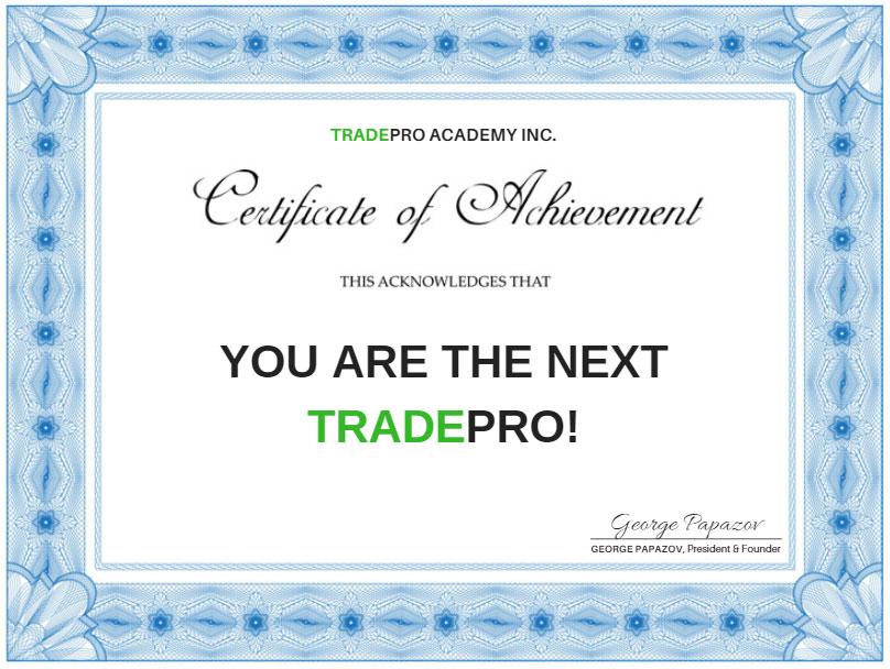 TRADEPRO Elite | TRADEPRO Academy |