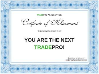 TRADEPRO Certification