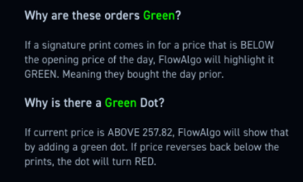 how to see dark pool trades
