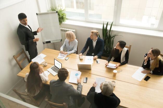 Tradepro Academy Team Meeting