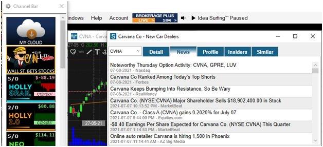 Bets Stocks Screener